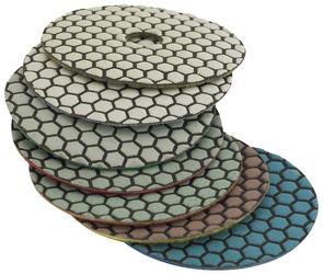 Journeyman Diamond Dry Polishing Pads | Polishing