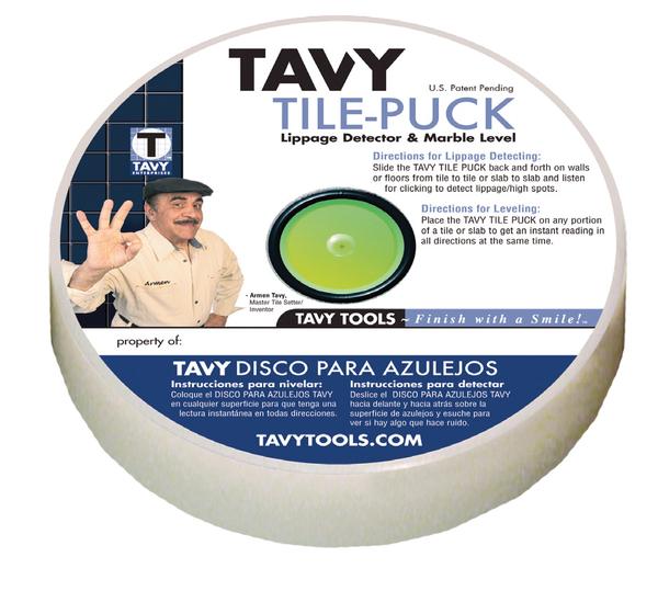 TAVY Tile Puck | TAVY