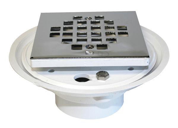 PVC Low Profile Drain | Drains/Toilet Seals