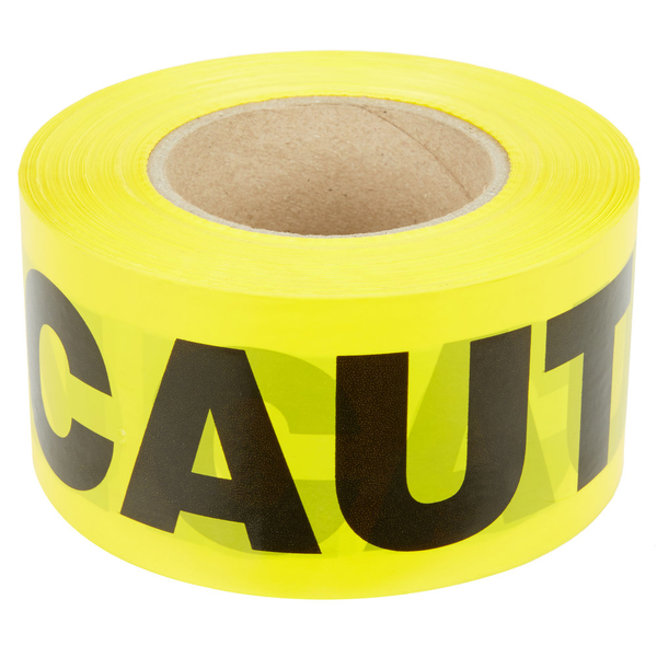 Caution Tape 3x1000' | Safety