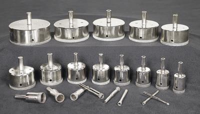 Image DiamondSure Bonded Diamond Core Drill Bits Sizes 1/8