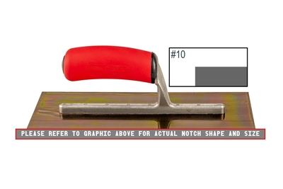 Image Ultrastainless Riveted Finishing Trowel