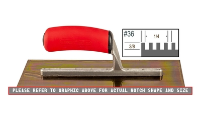 Image Ultrastainless Riveted 3/8 x 1/4 SQ Trowel