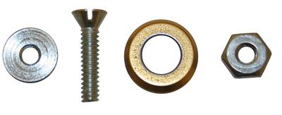 Image Superior Tile Cutters Carbide Repl 1/2 Wheel Set